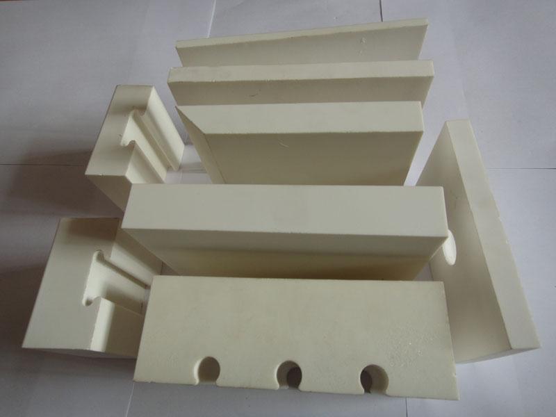 wear resistant lining alumina ceramic lining tile