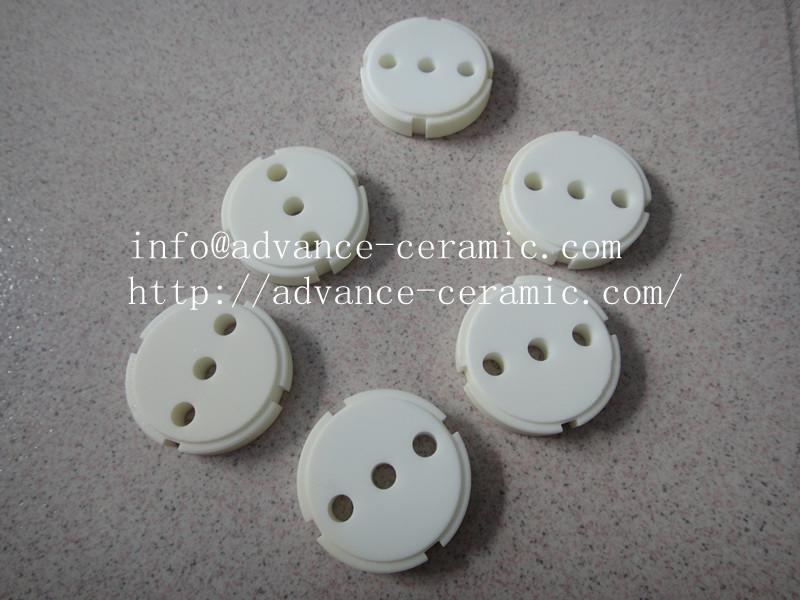 alumina ceramic valve 95% alumina ceramic valve